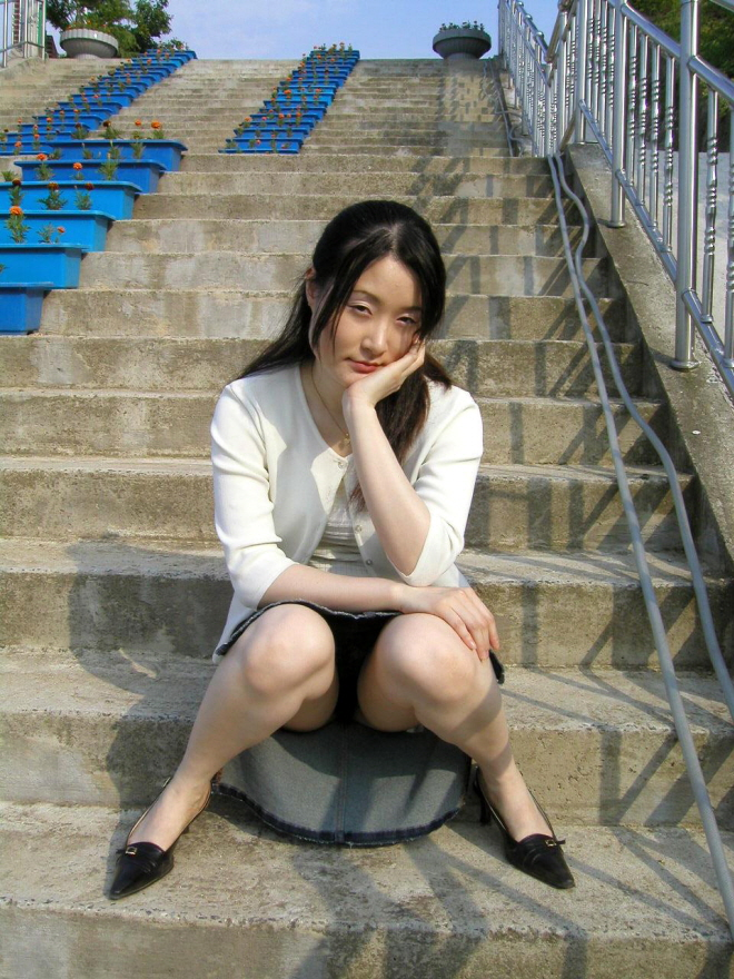 Под юбкой японских девушек