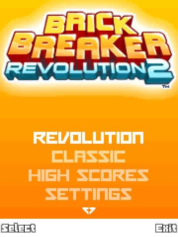 Brick Breaker Game Blackberry7