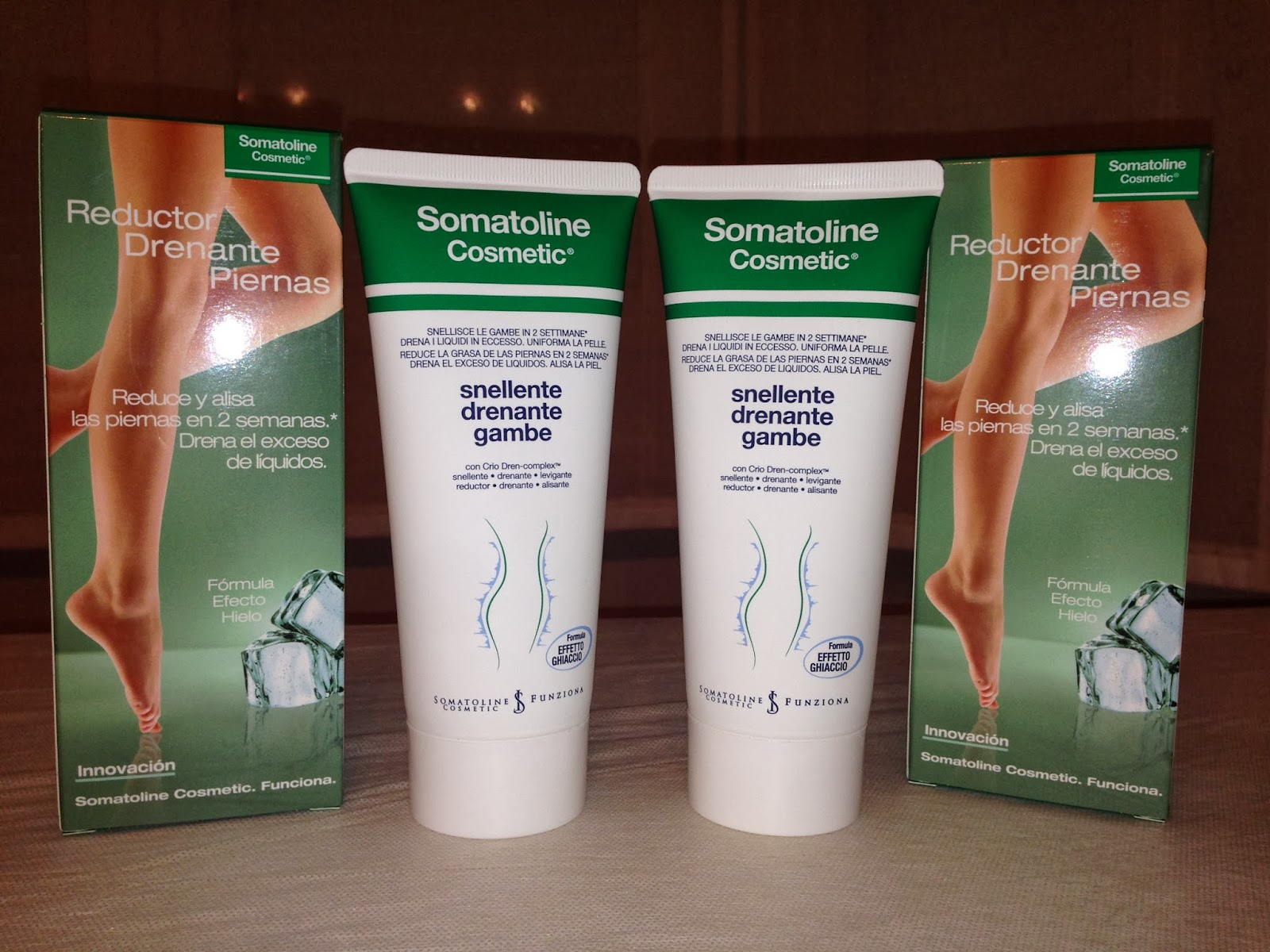 Reduce y drena tus piernas con Somatoline Cosmetic...