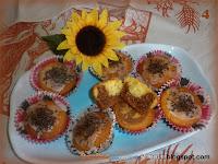 Muffin variegati al cioccolato