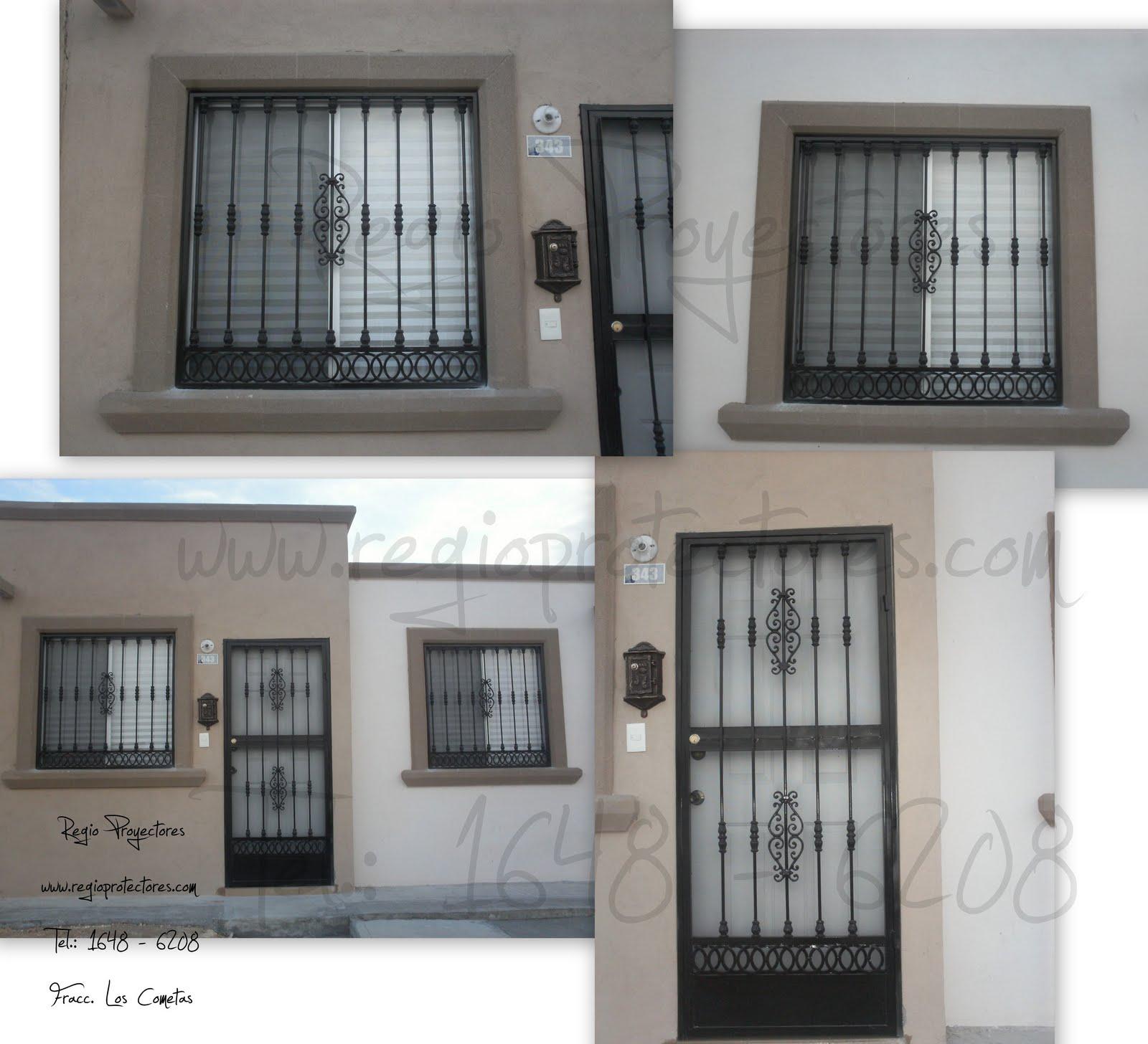Protectores para ventanas y puertas, Fracc. Los Cometas