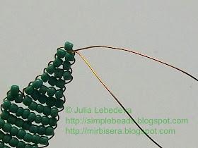 Бисероплетение для самых-самых начинающих: Хризантема