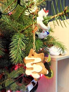 Post z choinką, czyli moje dekoracje świąteczne.