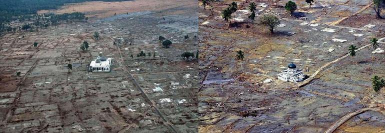 1)Знаменья Воли Божьей. Храмы сияют чистотой белизны, устояв после разрушительного для всех остальных строений цунами.