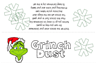 ... Swamp Frogs: Gearing Up for Grinch Day 2013 ~ Second Grade Style