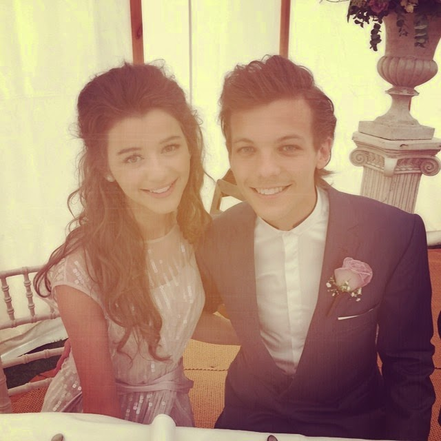 one direction louis and eleanor sophia and liam at