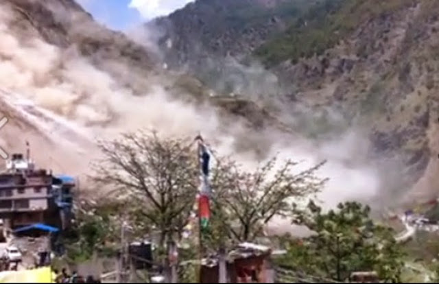 Rasuwa Dhunche Landslide Earthquake