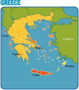 Loutraki Greece Map