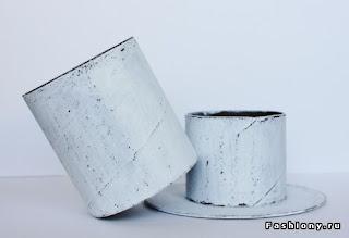 Шкатулка из пустых бобин