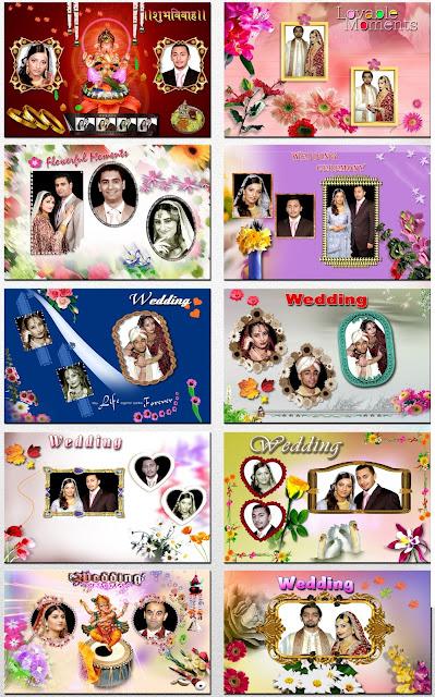 8x12 Indian Wedding Album Templates Design 4
