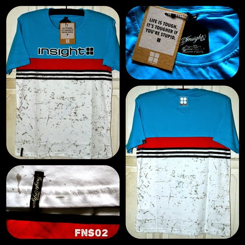 Kaos Surfing INSIGHT kode FNS02
