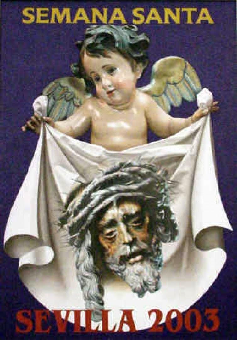 Cartel de la Semana Santa de Sevilla 2003