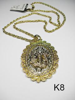 kalung aksesoris wanita k8