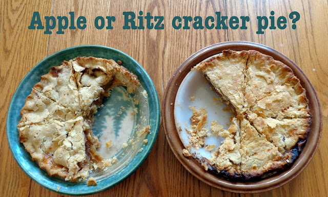 Ritz cracker apple pie