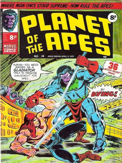 Marvel UK, Planet of the Apes #24, Killraven