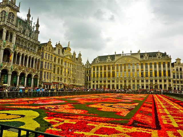Flower Carpet at Grand-Place Brussels