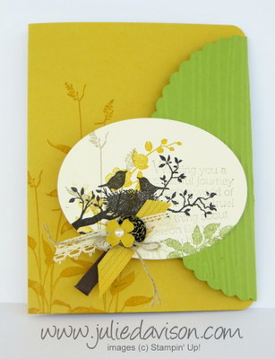Stampin' Up! World of Dreams Card #stampinup www.juliedavison.com