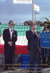 Due combattenti del Battaglione Piemonte
