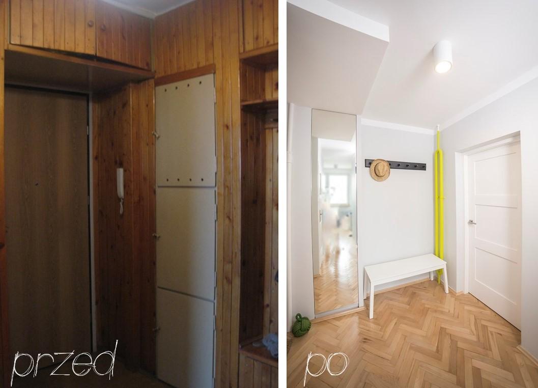 Metamorfoza 1 Kuchnia łazienka Przedpokój Mieszkanie W Bloku
