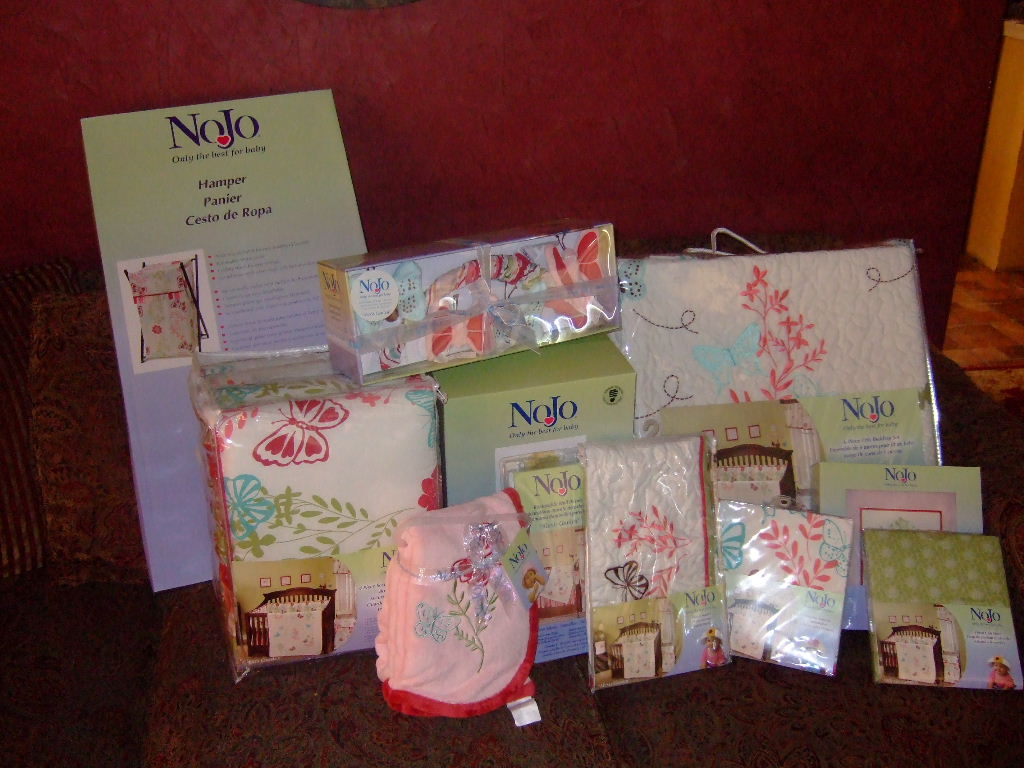 foreign quang our nojo baby bedding arrived