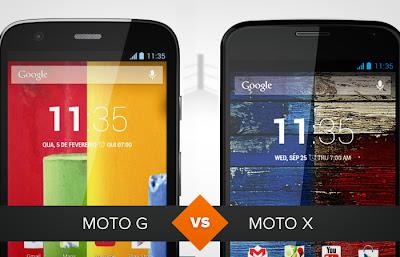 Moto G ou Moto X: qual a melhor lançamento da Motorola?