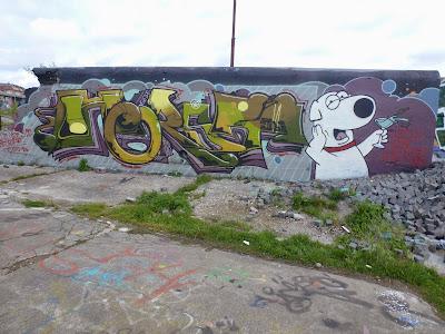 HORST, Tumblingerstraße, München, Graffiti, Streetart