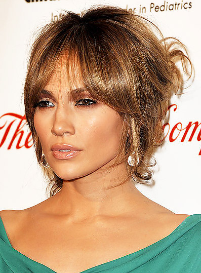 jennifer lopez hairstyles for prom. celebrity up do hairstyles.