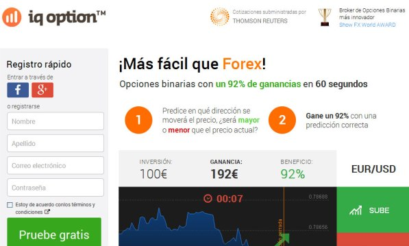 IQ Option Binary Options Cboe App London