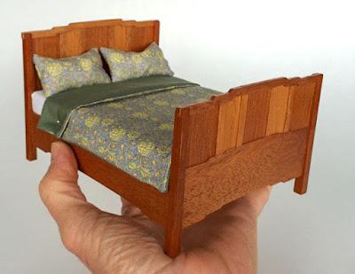 Good sam showcase of miniatures dealer lars mikkelsen for Greene and greene inspired furniture