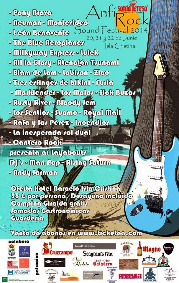 Anfi Rock Sound Festival 2014 Isla Cristina