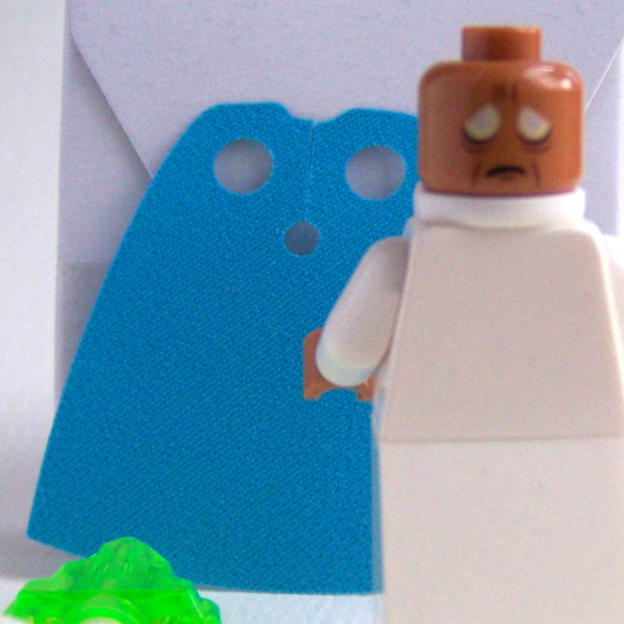 LEGO Movie Vitruvius minifigure head