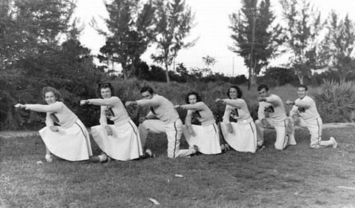 cheerleader tahun 1930-an