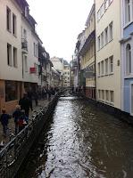 Canals through Freiburg