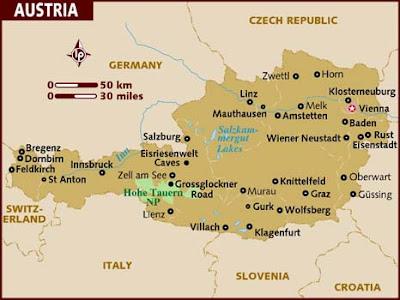 Austria Mapa del País