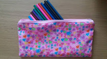 #HeatherMakes a pencil case!