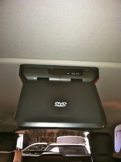 Audiovox Overhead DVD Player Mercedes Benz ML350