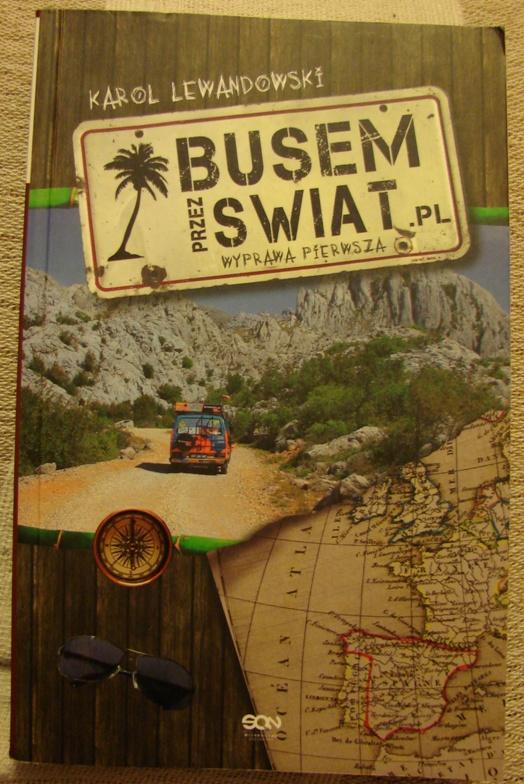 okładka książki Busem przez świat
