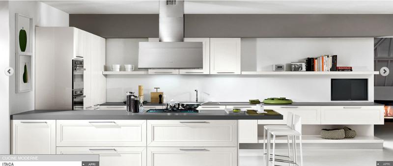 Foto Cucine Moderne Bianche E Nere