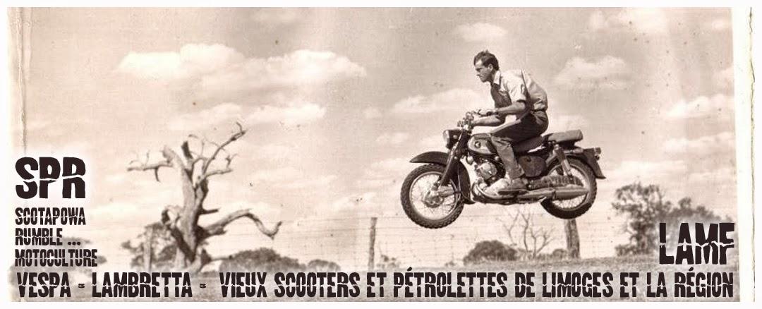 ScotaPOwa Rumble ... Motoculture !!! ... Vespa, lambretta, limoges
