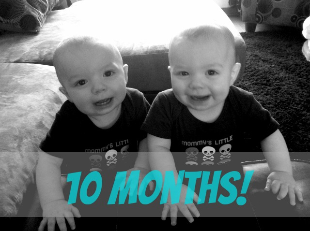 My Boys are 10 Months Already!