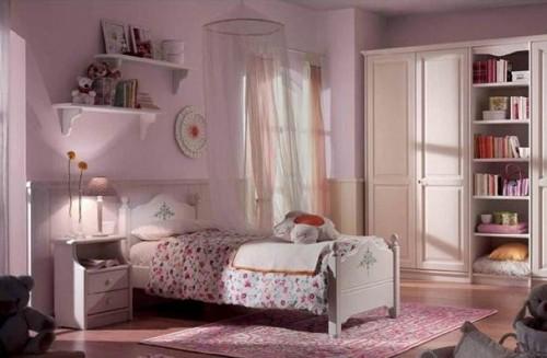 Dormitorio Color Rosa Para Ni A Colores En Casa