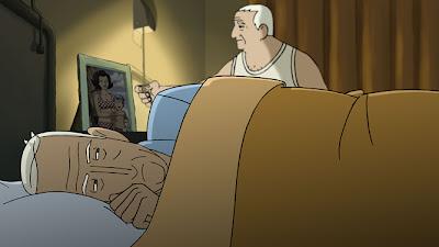 La película de animación 'Arrugas' es finalista en los Premios de Cine Europeo. Making Of. Escena de la película