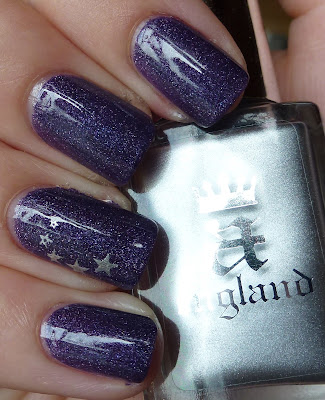 a-England, Lady Of The Lake, Konad m3, swatch