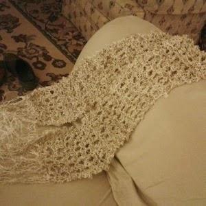 Gratis breipatroon sjaal hennepgaren