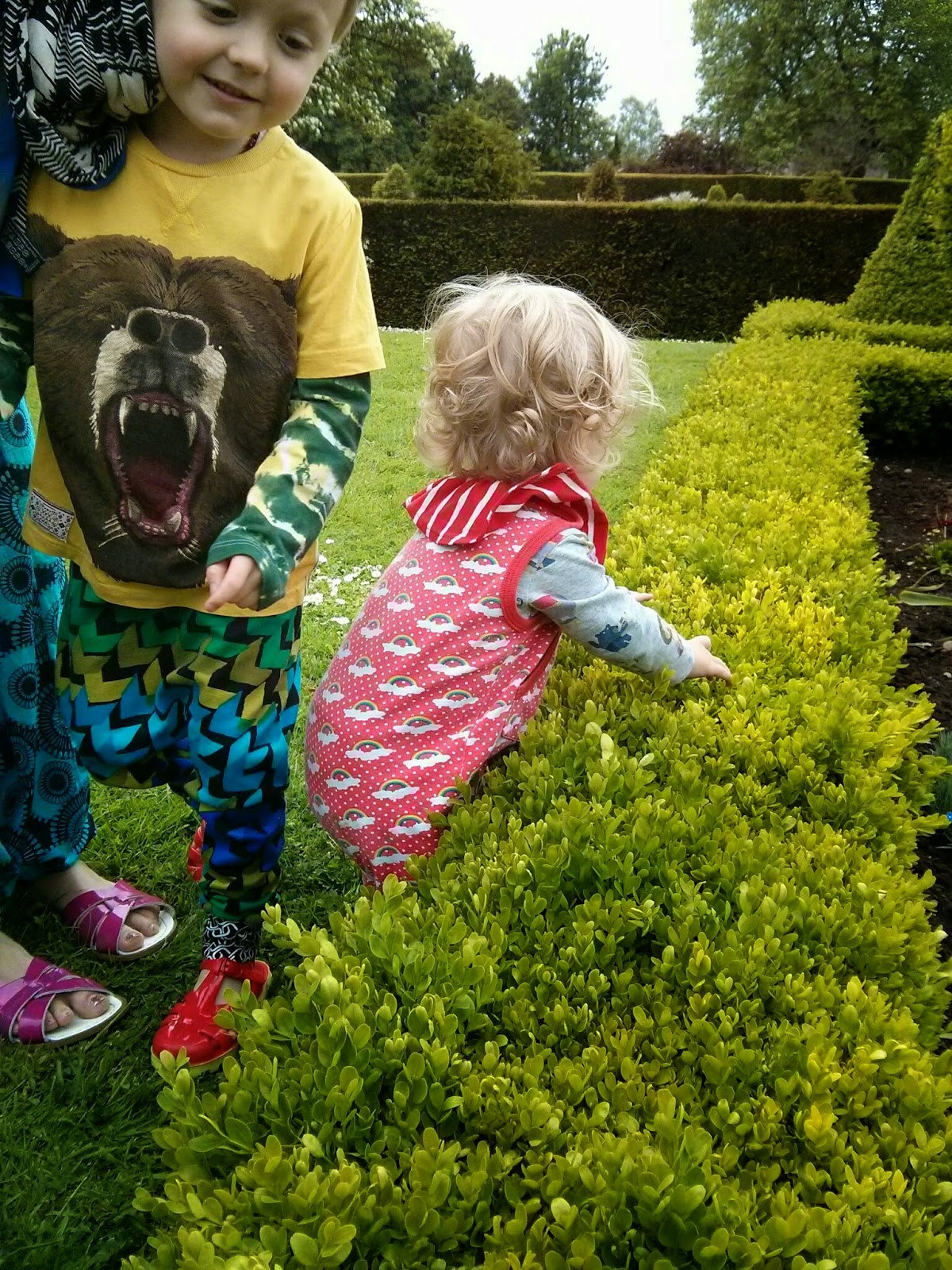 Westbury Court Garden, Coombe Mill Country Kids