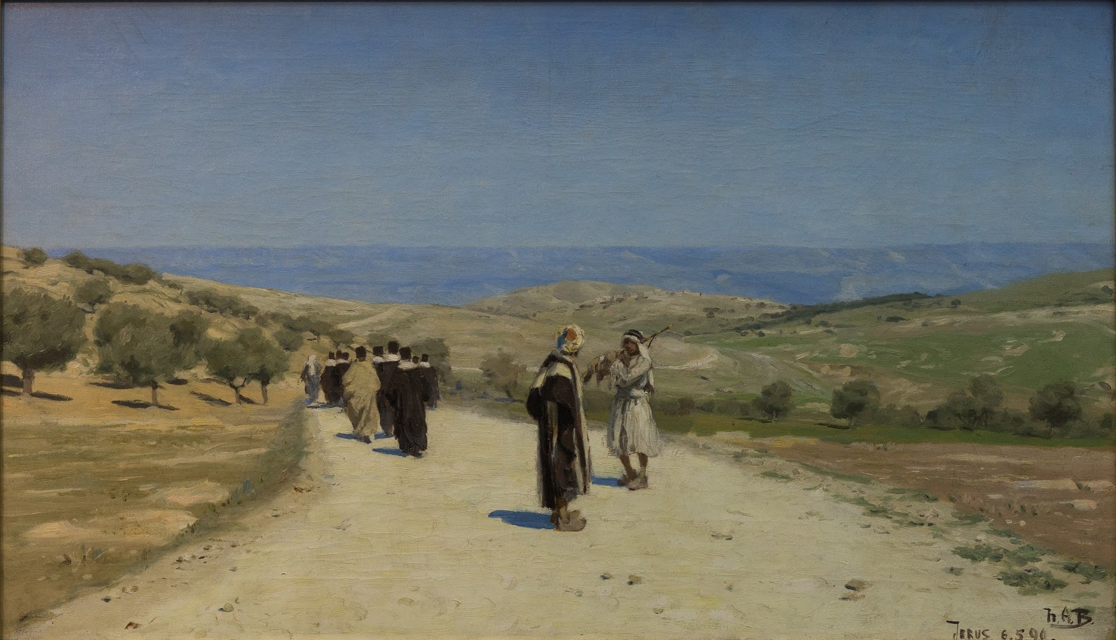 Hans Andersen  rendekilde Vejen til  etania