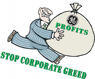 GE Profits Equal Corporate Greed