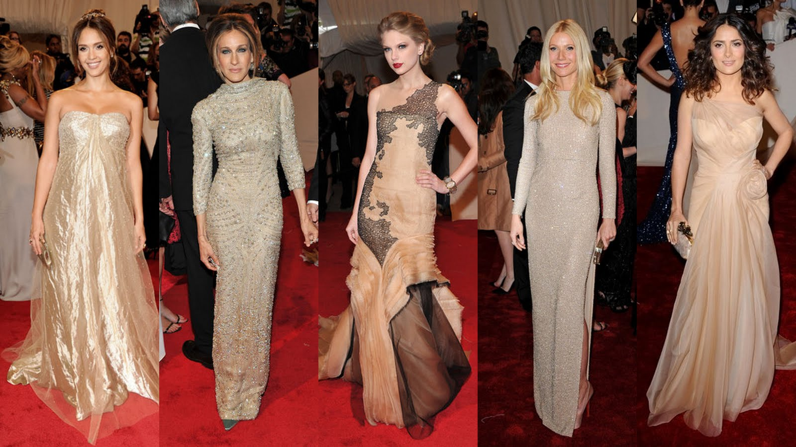 met+gala+4 Sarah Jessica Parker pays tribute to McQueen in an exquisite long sleeved ...
