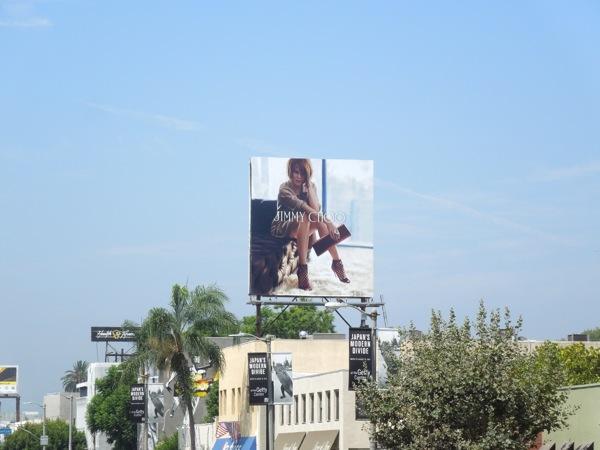 Nicole Kidman Jimmy Choo billboard