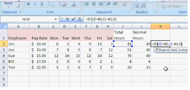 how to calculate overtime pay in excel accounting education